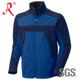 Outdoor Soft Shell&Polar Fleece Jacket with Stand Collar (QF-433)
