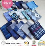 100% Cotton Multcolor Yarn Dyed Jacquard Hand Towel