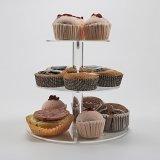 3 Tiers Acrylic Dessert Cake Display Stands