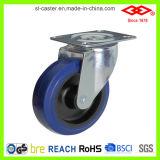 Elastic Rubber Nylon Center Industrial Caster Wheel (P102-23D080X32)