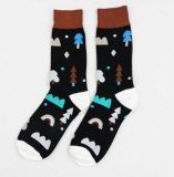 Custom Fashion Knee High Cotton Unisex Sock