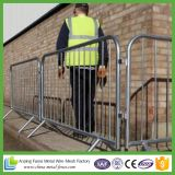 Galvanized Temporary Pedestrian Barrier / Crowd Control Barrier