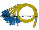 SC 24 Fiber Cores Fiber Optic Patch Cable