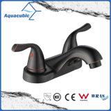 "Contemporary 4"" Bathroom Lavatory Orb Black Faucet (AF0070-6ORB)"