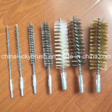 Nylon/Steel/Ss Wire Tube Brush with Screw (YY-468)