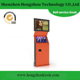 Customized Double Screen LCD Advertising Player Supermarket Self Service Kiosk