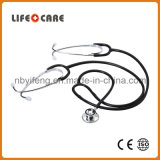 Medical Aluminium Alloy Dual Head Stethoscope for Teaching Use