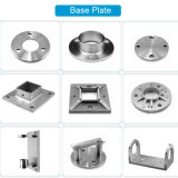 304 Stainless Steel Handrail Flange Round Flange Mounting Round Base