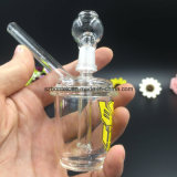 Wholesale Mini Colored Glass Oil Rig Water Pipe with 14.5mm Joint