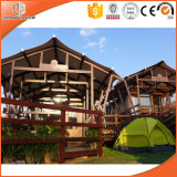 Smart Rainproof Low Cost Prefabricated Wood House Tentcabins Brother House Villas by Wood Window and Door Factory