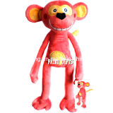 Plush Long Legs Monkey with Soft Material for Baby