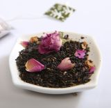 China Healthy Black Tea with 100% Organic Rose (MC-1003)