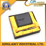 Hot Selling Leather Wallet +Pen Gift Set (KEM-014)