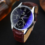 H314 Customized Men′s Fashion Stainless Steel Back Case Couple Watch for Gift