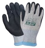 Super Cut Resistant Anti Abrasion Safety Work Gloves with Nitrile Dipping