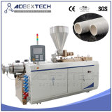 PVC Plastic Double Pipe Extruding Line
