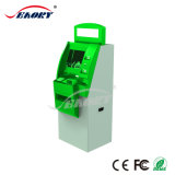 Dual Screen Multifunctional Outdoor Interactive Kiosk with Ticket Printer and Cash Payment