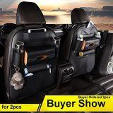 Car Organizer Back Seat Organizer PU Backseat Protector
