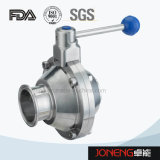 Stainless Steel Butterfly Type High Purity Ball Valve (JN-BLV1011)