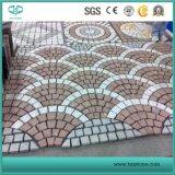 Red Porphyry Stone Tile Slab, Paver, Cobble Stone, Cubestone