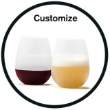 Unbreakable Clear Silicone Beer Wine Cup