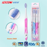 Spiral Tapered Double Sided Swan Toothbrush