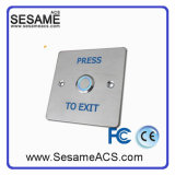 Panel Hollow Frame Stainless Steel Panel Metal Buttons (SB10)