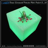 50X50X50cm RGB Color Change LED Furniture Plastic Cube Light