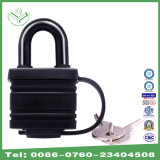 30mm Waterproof Zinc Alloy Laminated Padlock with Thermoplastic Cover