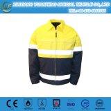 Yellow Safety Reflective Softshell Jacket