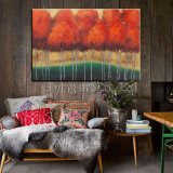 Handmade Reproduction Impression Oil Painting for Trees