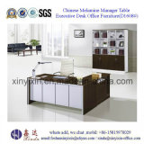 L-Shape Manager Office Desk China Wooden Office Furniture (D1608#)