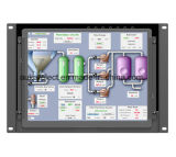 10.4 Inch Open Frame Industrial LCD Monitor with 5-Wire Resistive Touch