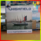 Outdoor or Indoor Straight Fabric Pop up Display for Advertising or Exhibition