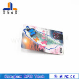 Customized Silk Screen RFID Paper Smart Card for Canteen Ticket