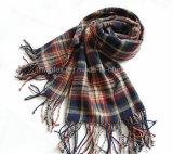 Soft Feeling Winter Fashion Woven Acrylic Stole / Scarf (HWBA-001)