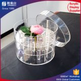 Wholesale Acrylic Flower Box for Gift Flower Box with Handle