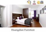 Elegant Style Customized Hotel Wooden Bedroom Furniture (HD413)