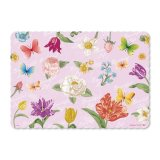 Flower Pattern Waterproof PP Placemat