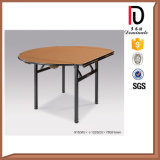 Wholesale Foldable Plywood PVC Banquet Hotel Table (BR-T079)