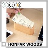 Wooden Storage Box Offic Card Case