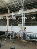 Safe Ce Qualified Scaffolds Tower for Decoration.