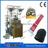 Automatic Double Knitting System Hat and Scarf Knitting Machine