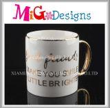 Buy Coffee Mug Golden Handle Promotional Colorful Ceramic Mug