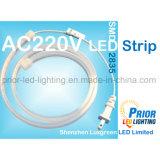 High CRI90 AC100-240V IP67 LED Strip 19W/M Outdoor IP67