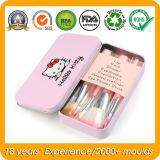 Hello Kitty Metal Tin Case for Makeup Brush Set