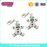 Imitation Rhodium High Quality Snowman Christmas Charms