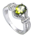 Fashion Jewelry CZ Ring 925 Sterling Silver Jewelry.
