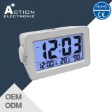 Digital Alarm Table Clock with Night Sensor and USB Charger