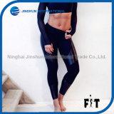 Hot-Selling Fashion Stitching PU Sexy Tight Ladies Sports Leggings